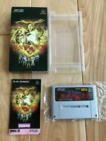 VG++ SHIN MEGAMI TENSEI 2 SFC Super Famicom SNES NTSC-J CIB F/S Japan Import