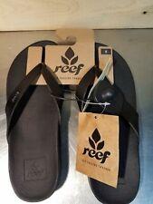 New Reef Womens Size 5 Black Flip Flops/Sandals