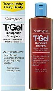 Neutrogena T/Gel Therapeutic Shampoo for Scalp Psoriasis Itching Dandruff 125ml