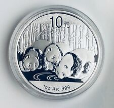 from mint sheet, in capsule 2014 Chinese 1 oz Silver Panda