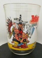 Verre à moutarde vintage Asterix et les Indiens 1994