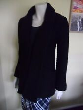 Yoana Baraschi Black Ribbed Jacket
