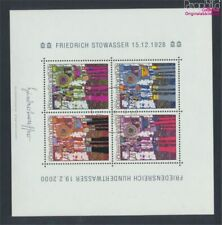 Austria block15 (complete issue) fine used / cancelled 2000 Hundertwas (9282935