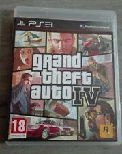 [PS3] GTA 4 - Grand Theft Auto IV - Complet Avec Notice Et Carte