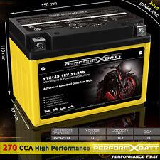270CCA AGM Motorcycle Battery YTZ14S 12V 11.2Ah Honda Yamaha KTM BMW Benelli