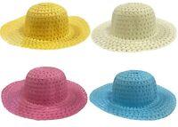 Childrens Easter Bonnet Straw Hat Boys Girls Decorate Chicks & Eggs Parades 0065