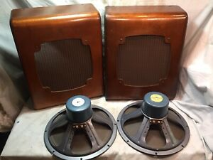 Vintage Pair RCA Alnico SL 12 Speakers for WESTERN ELECTRIC System
