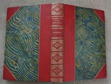 RARE ANTIQUE LEATHER & MARBLED ARCHAEOLOGY Indians Cities New World