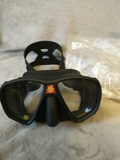 OMS Frameless Low Volume Two Window Glass Scuba Diving Mask