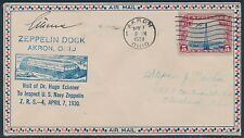 #C11 ON ZEPPELIN DOCK COVER WITH DR. HUGO ECKENER AUTOGRAPH BR9918