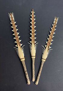Shark Teeth Swords Spear Handmade Tribal Gilbert Islands Artefact