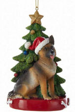 German Shepherd Christmas Tree Ornament
