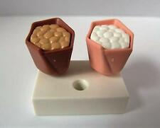 Playmobil Dollshouse/Cafe/Shop extras: Popcorn cones and holder NEW