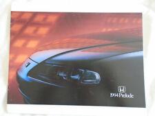Honda Prelude brochure 1994 USA market