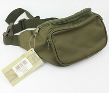 Army Military Dark Green Money Pouch Bum Bag Fanny Pack