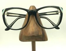 Vintage Kensie On The Edge Black Oval Cat Eye Sunglasses Eyeglasses Frames