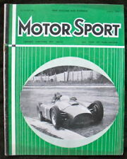 MOTOR SPORT MAGAZINE JAN 1957 INT RACE RESULTS OF 1956