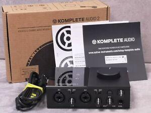Native Instruments Komplete Audio 2 - with original software (Ableton, Maschine)