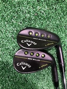 Callaway MD3 Milled S Grind and C Grind Wedge Set, Right handed