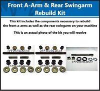 FRONT A-ARM & SWINGARM BUSHING SHAFT KIT YAMAHA BANSHEE YFZ-350 YFZ350 1991-2009