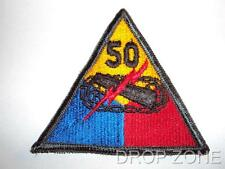 US Army Military 50th Armoured Forces Centre Division Badge Sew On Patch