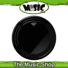 "New Remo 20"" Powerstroke Pro Ebony Bass Drum Skin - 20 Inch Head - PR-1420-00"