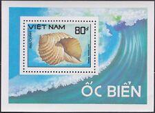VIETNAM Bloc N°45** Bf  Coquillage, 1988 Vietnam 1923 Shell Sheet MNH