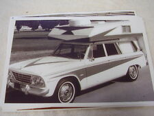 1965 STUDEBAKER  STATION WAGON WITH CAMPER TOP  11 X 17  PHOTO  PICTURE