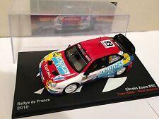 VOITURES MINIATURES 1/43 RALLYE DE FRANCE 2010 CITROEN XSARA WRC 68 MIN000863