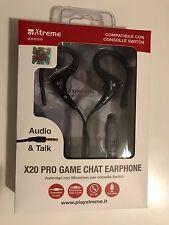 X20 PRO-GAME CHAT EARPHONE - AURICOLARE STEREO CON MICROFONO PER NINTENDO SWITCH
