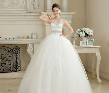 white princess fashionable lace wedding dress romantic tulle