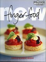 New Finger Food by The Australian Women's Weekly LIKE NEW illustrated paperback