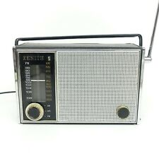 Zenith Royal 820 Radio 9LT42Z8 Chassis Vintage Radio Works for parts/repair