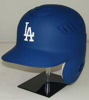 LOS ANGELES DODGERS MATTE BLUE Rawlings Coolflo Full Size Batting Helmet- Righty