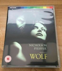 WOLF / INDICATOR / LIMITED EDITION / BLU RAY + BOOKLET / UK REGION FREE
