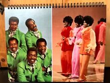 Aint Too Proud Beg Temptations /Supremes Motown Broadway Album Cover Notebook