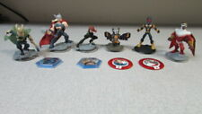 Lot Of 7 Disney Infinity 2.0 Marvel Avengers Thor Rocket Raccoon Black Widow