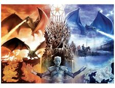 Buffalo Games - GAME OF THRONES: FIRE AND ICE - 2000 piece puzzle - Brand New