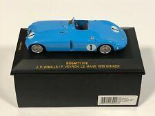 IXO MODELS LMC024 Bugatti 57C #1 Winner 24h Le Mans 1939 Veyron Wimille 1/43