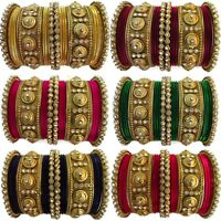 Indian Fashion Bangles Set Bollywood Bridal Designer Wedding Wear