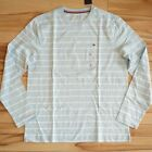 NWT MEN'S TOMMY HILFIGER MULTICOLOR T-SHIRT LONG SLEEVE STRIPE TEE MULTISIZE