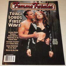 FEMME FATALES MAGAZINE MAR./APR. 2001 / TRACI LORDS, JULIANNE MOORE