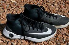 NIKE ZOOM KD Trey 5 IV basketball shoe black white gray sz 9.5 844571-010 Durant