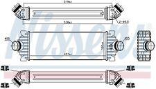 "FORD TRANSIT 2.2 TDCI 12- INTERCOOLER (FOR ""DW12"" ENGINE )"