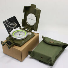 US Army Military Lensatic Compass Model Cammenga Olive Drab Camping Hiking