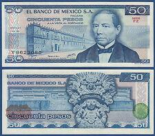 México/México 50 pesos 1978 UNC p.67 a