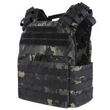 Condor Black Multicam Tactical Lightweight MOLLE Cyclone SAPI Plate Carrier Vest