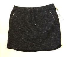 Green Tea Charcoal Heather Knit Skort Women's Sz XL NWT MWRP$48