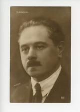 Portrait de Monsieur Sadoul  Vintage Print,   Tirage argentique  14x9  Cir