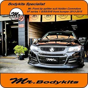 Mr. Front Bumper Lip Splitter For Holden Commodore VF Series 1 Sedan/Ute/Wagon